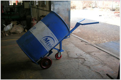 3 Wheeler Drum Trolley