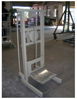Roll Lifting Trolley