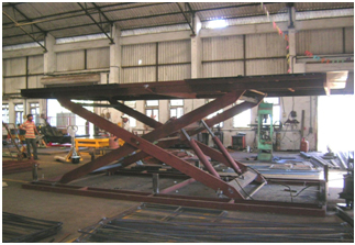 Scissors Lifting Platform